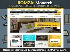 ROMZA: Monarch — интернет-магазин мебели